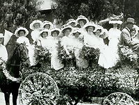1908 Entry in the Hollywood Tilting & Floral Parade