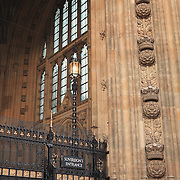 Sovreign's Entrance Parliment - London, UK