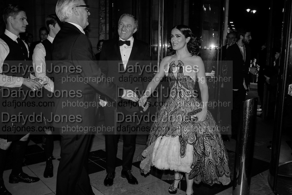 MARTIN ROTH, Francois-Henri Pinault , Salma Hayek, Alexander McQueen: Savage Beauty Gala, Victoria and Albert Museum, and A. 12th March 2015