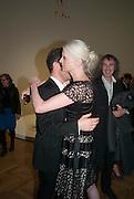 SANDY ROWER; KRISTEN MCMENAMY, Calder After The War. Pace London. Burlington Gdns. London. 18 April 2013.