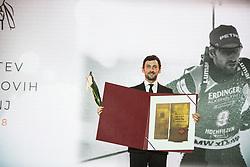 Jakov Fak at 54th Annual Awards of Stanko Bloudek for sports achievements in Slovenia in year 2018 on February 13, 2019 in Brdo Congress Center, Brdo, Ljubljana, Slovenia,  Photo by Peter Podobnik / Sportida