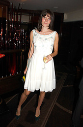 LADY LAURA CATHCART at a party to celebrate the 50th Anniversary of Gina Shoes held at The Bar, The Dorchester, Park Lane, London on 19th September 2006.<br />