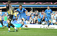 St Andrews Birmingham City  v Cardiff City (1-1) Championship 25/03/2012<br />Erik Huseklepp (Birmingham City) scores first goal <br />Photo: Roger Parker Fotosports International