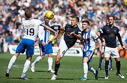 Falkirk's Will Vaulks. Kilmarnock 4 v 0 Falkirk, second leg of the Scottish Premiership play-off final.