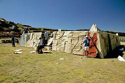Sacsayhuaman preparing for festival