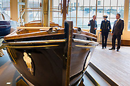 HRH The Princess Royal during her commemorative visit to Boathouse 4 at Portsmouth Historic Dockyard today. The Boathouse opened last year following a £5.7million restoration and features a boatbuilding academy, The Forgotten Craft exhibition, family activities and Midships restaurant.<br /> Picture date: Monday March 20, 2017.<br /> Photograph by Christopher Ison ©<br /> 07544044177<br /> chris@christopherison.com<br /> www.christopherison.com