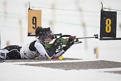 11.12.2010, Biathlonzentrum, Obertilliach, AUT, Biathlon Austriacup, Sprint Lady, im Bild Stefanie Aigner (AUT, #16). EXPA Pictures © 2010, PhotoCredit: EXPA/ J. Groder
