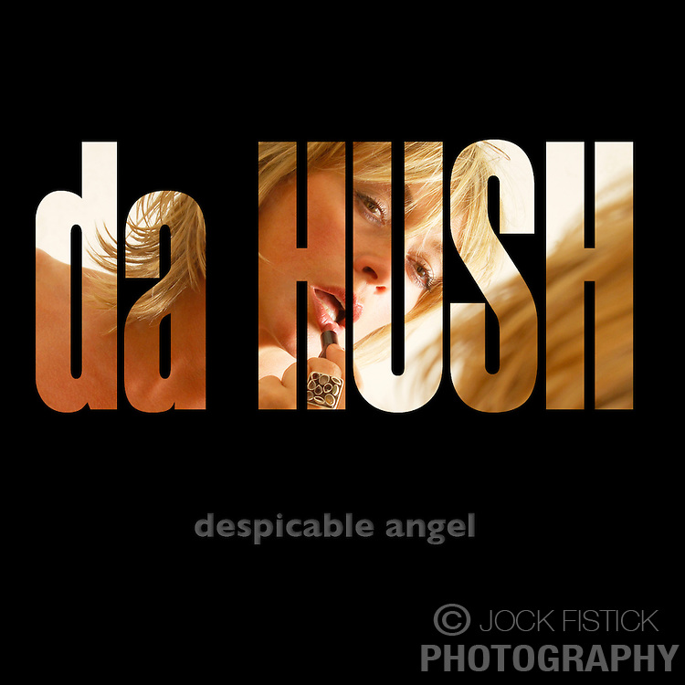 Da Hush CD cover design sample. (Photo and Design © Jock Fistick)