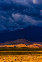 Great Sand Dunes National Park and Preserve, near Alamosa, Southern Colorado.