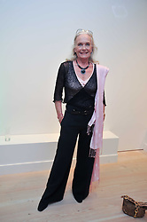 Actress SHIRLEY EATON at an exhibition of photographic portraits by Bryan Adams entitled 'Hear The World' at The Saatchi Gallery, King's Road, London on 21st July 2009.