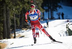 Ole Einar Bjoerndalen (NOR)  during Men 15 km Mass Start at day 4 of IBU Biathlon World Cup 2015/16 Pokljuka, on December 20, 2015 in Rudno polje, Pokljuka, Slovenia. Photo by Vid Ponikvar / Sportida