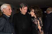 SIMON RUEBEN;, MICHAEL BRANDON; JOAN COLLINS, Bonhams host a private view for their  forthcoming auction: Jackie Collins- A Life in Chapters' Bonhams, New Bond St.  3 May 2017.