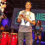 NLD/Amsterdam/20151119 - Esquire Best Geklede man 2015, winnaar Ronnie Flex
