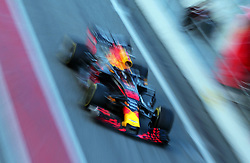 March 6, 2018 - Barcelona, Catalonia, Spain - the Red Bull of Max Verstappen during the Formula 1 tests at the Barcelona-Catalunya Circuit, on 06th March 2018 in Barcelona, Spain. (Credit Image: © Joan Valls/NurPhoto via ZUMA Press)
