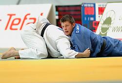 28-05-2006 JUDO: EUROPEES KAMPIOENSCHAP: TAMPERE FINLAND<br /> In de herkansingsronde wint Danny Meeuwsen van de Litouwer Zilinskis. Een ronde later werd Meeuwsen echter uitgeschakeld door de sterke Kizilashvili (GEO).<br /> ©2006-WWW.FOTOHOOGENDOORN.NL