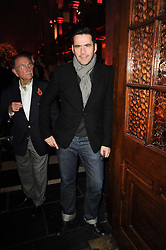 ROLAND MOURET at a Celebration of 10 Years of IHT Luxury Conferences during the International Herald Tribune Heritage Luxury Conference held at One Mayfair, 13 1/2 North Audley Streer, London on 9th November 2010.