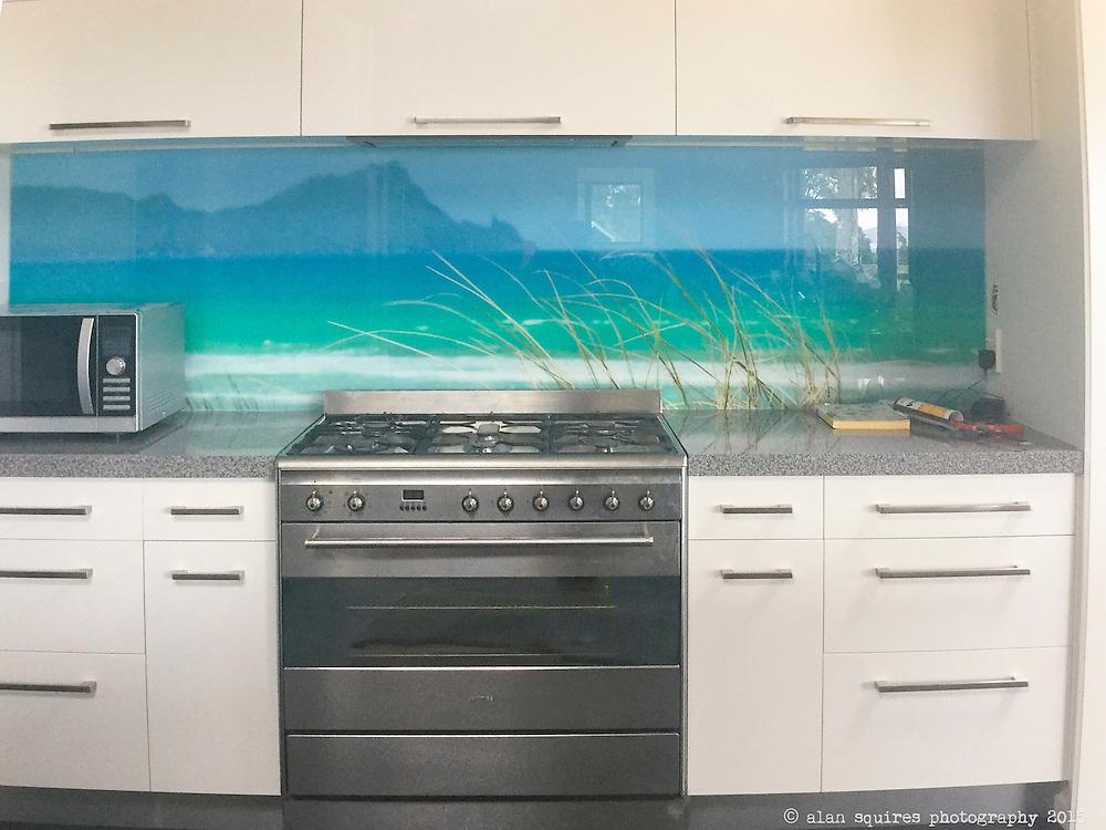 kitchen splashback private commission