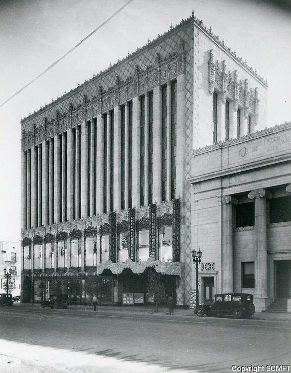 1926 El Capitan Theater on Hollywood Blvd.
