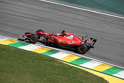 November 12, 2017 - Sao Paulo, Sao Paulo, Brazil - 5 SEBASTIAN VETTEL, of Scuderia Ferrari drives during the Formula One Grand Prix of Brazil at Interlagos circuit, in Sao Paulo, Brazil on November 12, 2017. (Credit Image: © Paulo Lopes via ZUMA Wire)