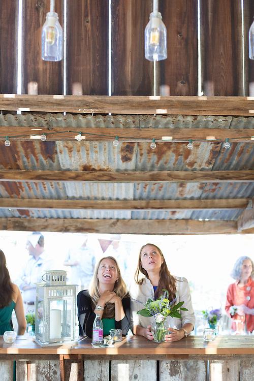 Casey end Eric wedding at Monkey Ranch, in Petaluma, CA. Wedding in the tall barn at Monkey Ranch in Petaluma California