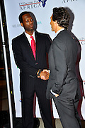**EXCLUSIVE**.Pras Michel and Lawrence Bender..Pras Michel of The Fugees Honoring The First Ladies of Africa at a Cocktail Reception in partnership US Doctors For AFRICA..WP Wolfgang Puck Restaurant..Pacific Design Center..West Hollywood, CA, USA..Monday, April 20, 2009..Photo By Jennifer Smulin/Celebrityvibe.com.To license this image please call (212) 410 5354; or Email: celebrityvibe@gmail.com ; .website: www.celebrityvibe.com.