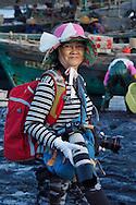 "A big city - ""Folk-lore photographer"", enthusiastic hobbyist, Shi Ma Jiao harbour, Guangdong province, China"