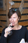 britt karlsson tasting dom a voge cornas rhone france