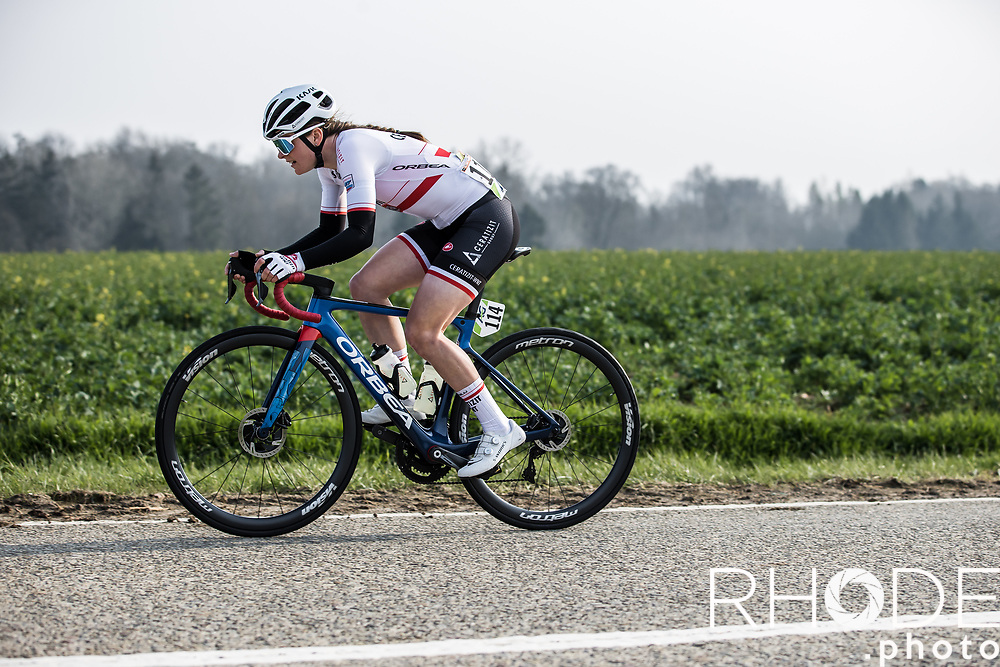 Marta Lach (POL/Ceratizit-WNT)<br /> <br /> 24th la Flèche Wallonne Féminin 2021 (1.UWT)<br /> 1 Day Race: Huy – Huy 130,5km<br /> <br /> ©RhodePhoto