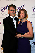 """Boyd Gaines and Kathleen Gaines at The American Theater Wing's Annual Spring Gala Honoring Jerry Herman and Visa INC...The American Theatre Wing is best known as the creator of the Antoinette Perry """"Tony"""" Awards, which it presents annually with the Brodway League. The Wing's other activities, dedicated to recognizing excellence and supporting eductaion in theatre."""
