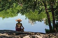 A meditative time at Turtle Pond, Central Park, Aug. 6, 2021