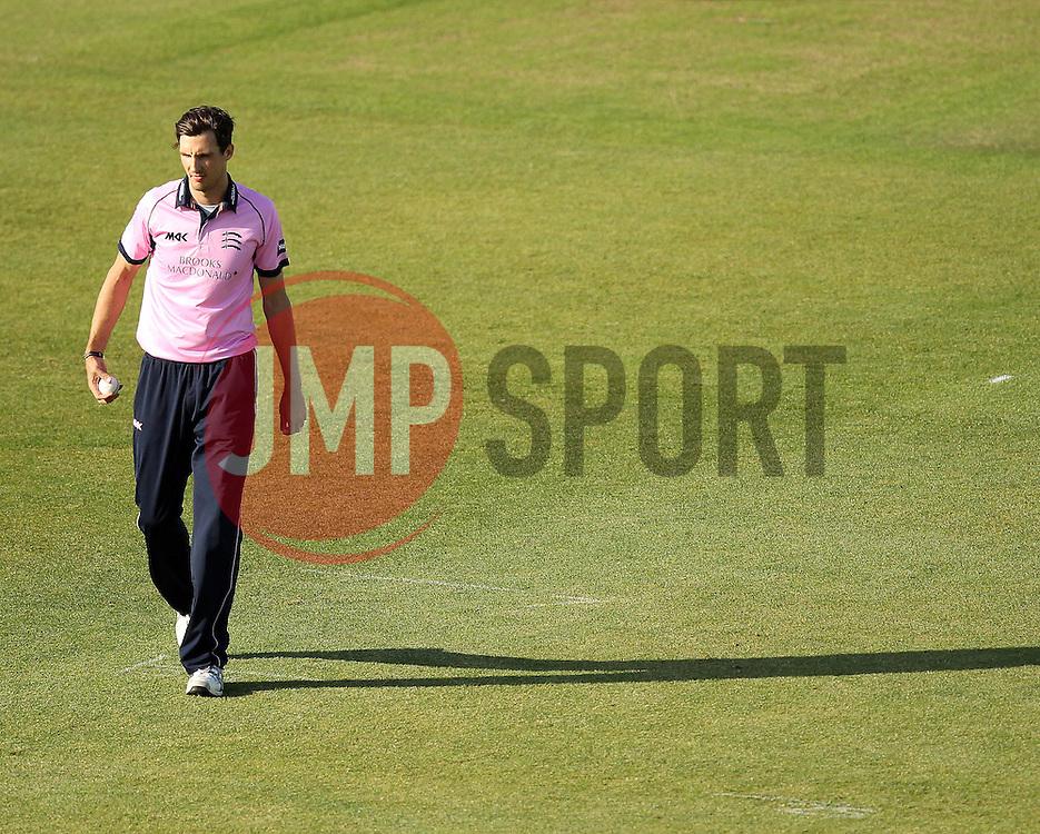 Middlesex's Steven Finn - Photo mandatory by-line: Robbie Stephenson/JMP - Mobile: 07966 386802 - 04/06/2015 - SPORT - Cricket - Southampton - The Ageas Bowl - Hampshire v Middlesex - Natwest T20 Blast