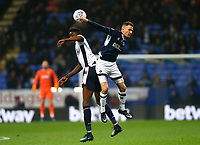 Bolton Wanderers' Sammy Ameobi and Millwalls Jed Wallace <br /> <br /> Photographer Leila Coker/CameraSport<br /> <br /> The EFL Sky Bet Championship - Bolton Wanderers v Millwall - Tuesday 10th April 2018 - Macron Stadium - Bolton<br /> <br /> World Copyright © 2018 CameraSport. All rights reserved. 43 Linden Ave. Countesthorpe. Leicester. England. LE8 5PG - Tel: +44 (0) 116 277 4147 - admin@camerasport.com - www.camerasport.com