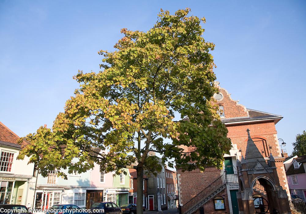 Market Hill, Woodbridge, Suffolk, England