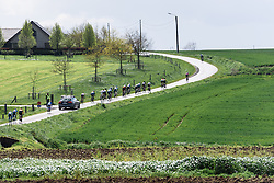 The climbing begins at Dwars door de Westhoek 2016. A 127km road race starting and finishing in Boezinge, Belgium on 24th April 2016.
