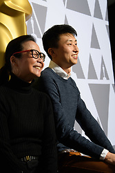 """Diane Quon and Bing Liu of the Oscar® nominated documentary feature """"Minding the Gap"""" prior to the Academy of Motion Picture Arts and Sciences' """"Oscar Week: Documentaries"""" event on Tuesday, February 19, 2019 at the Samuel Goldwyn Theater in Beverly Hills. The Oscars® will be presented on Sunday, February 24, 2019, at the Dolby Theatre® in Hollywood, CA and televised live by the ABC Television Network."""