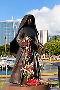 Mothar Marianne Cope, Ala Moana Beach Park, Waikiki, Honolulu, Oahu, Hawaii