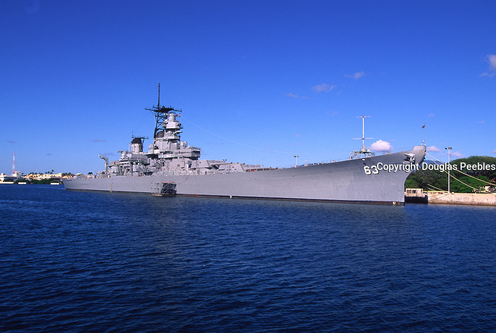 USS Missouri, Pearl Harbor, Honolulu, Oahu, Hawaii, USA<br />