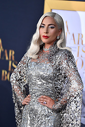Lady Gaga attends the Premiere of Warner Bros. Pictures' 'A Star Is Born' at the Shrine Auditorium on September 24, 2018 in Los Angeles, California. Photo by Lionel Hahn/AbacaPress.com
