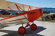 USA, Oregon, Hood River, Western Antique Aeroplane and Automobile Museum, engine run-up of a 1929 3C3-T Command Aire.