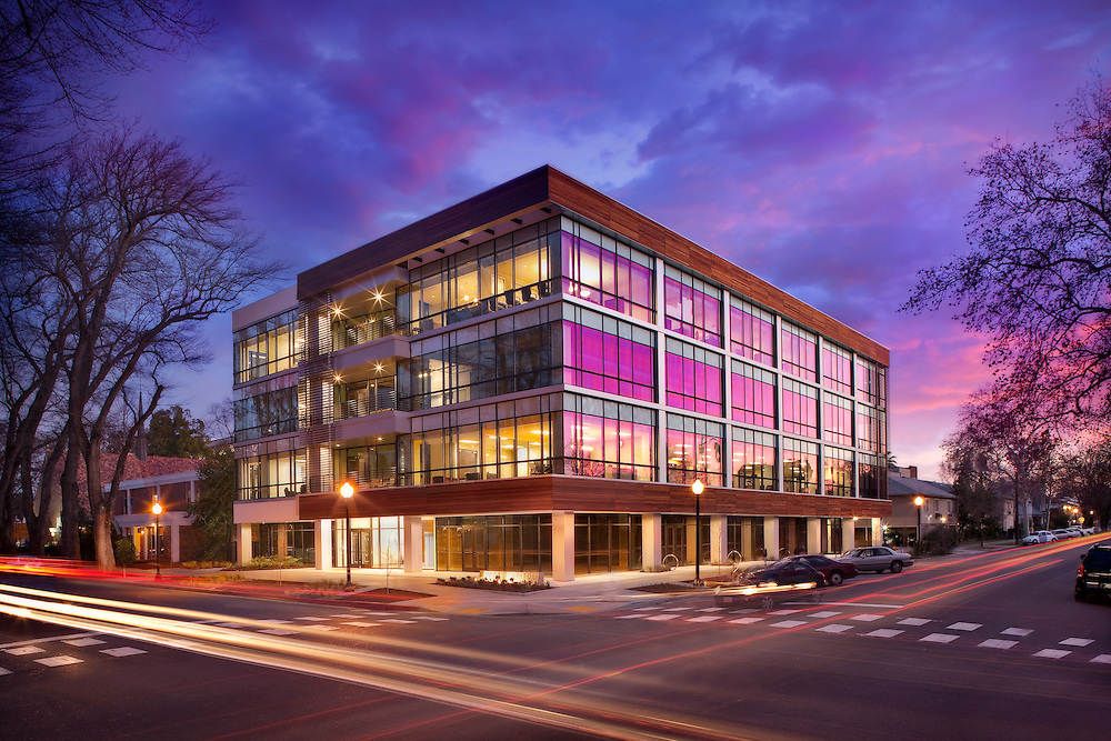 2600 Capitol- Leed Gold Certified Office infrastructure- architectural and Interior Photography example of Chip Allen's work.