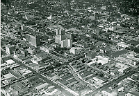 1938 Looking NW at Hollywood near Hollywood Blvd. & Vine St.