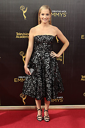 .Joanne Froggatt   attends  2016 Creative Arts Emmy Awards - Day 1 at  Microsoft Theater on September 10th, 2016  in Los Angeles, California.Photo:Tony Lowe/Globephotos