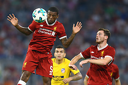August 2, 2017 - Munich, Germany - Georgino Wijnaldum of Liverpool during the Audi Cup 2017 match between Liverpool FC and Atletico Madrid at Allianz Arena on August 2, 2017 in Munich, Germany. (Credit Image: © Matteo Ciambelli/NurPhoto via ZUMA Press)