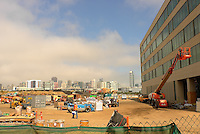 Construction Site UCSF South Bay Campus. Image taken with a Leica X1 camera (ISO 100, 24 mm, f/5.6, 1/800 sec).