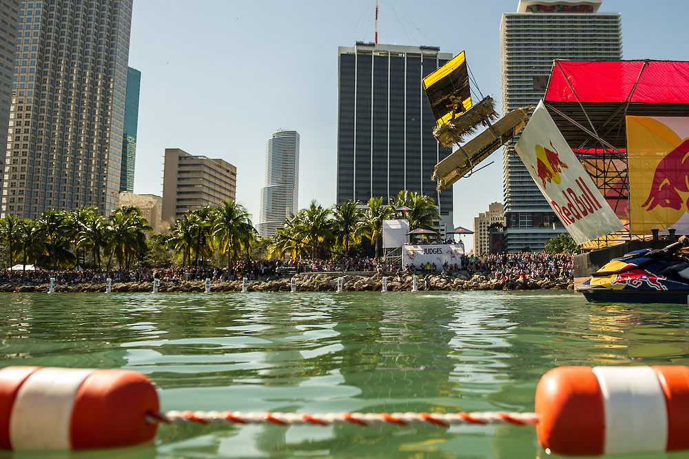 Pirates of the Care Free Being: Return of the Castaways  -  Performs at RedBull Flugtag in Miami, Florida on 11/03/2012