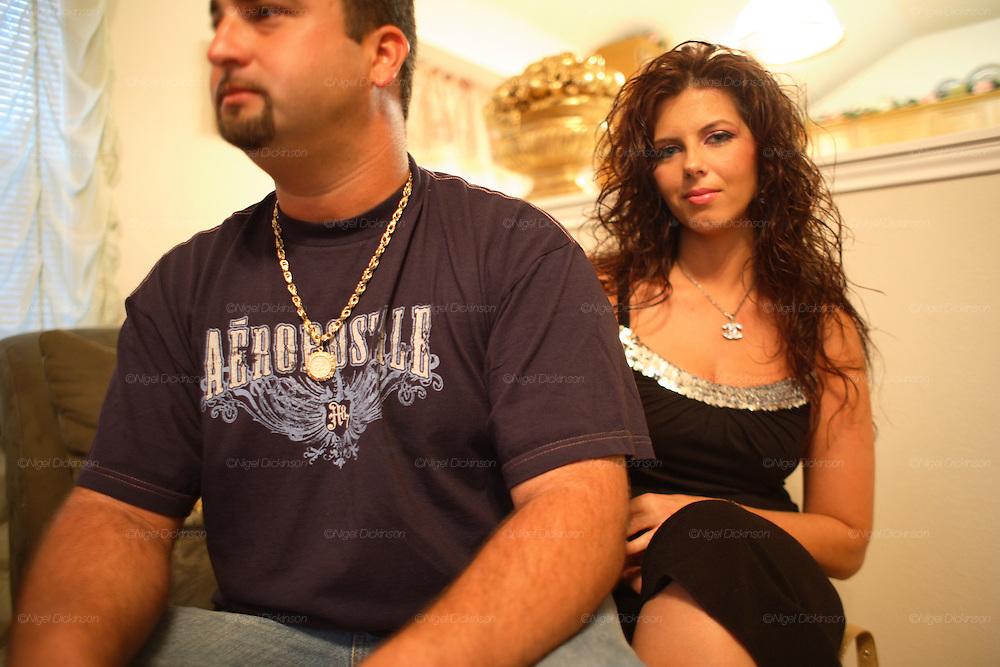 Jean's family living in Austin. English Romanichel Roma living in Texas, USA