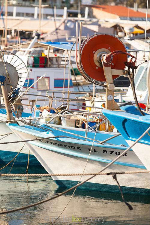 Marina in Paphos, Cyprus