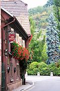 Restaurant Le Val d'Eleon Winstub. Andlau, Alsace, France