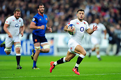 Danny Care of England runs in the opening try of the match - Mandatory byline: Patrick Khachfe/JMP - 07966 386802 - 19/03/2016 - RUGBY UNION - Stade de France - Paris, France - France v England - RBS Six Nations.