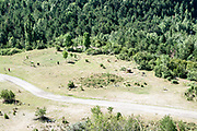 The Dolmen at Santa Elena, Pyrenees Mountains, Huesca province, Aragon, Spain